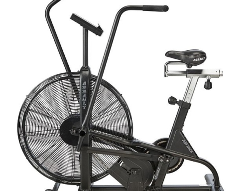 Assault Air exercise bike burns 80 calories a minute