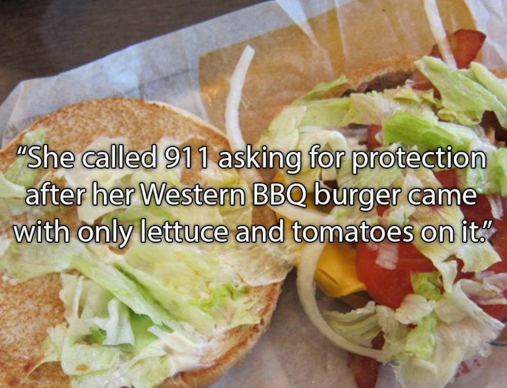 911 calls over fast food issues that were in no way emergencies (23 Photos)