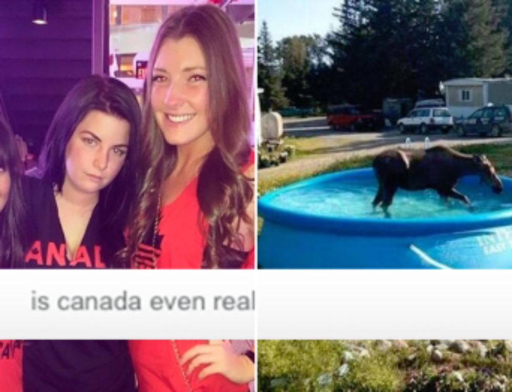 Canada: the land of politeness, beavers and WTF (34 Photos)