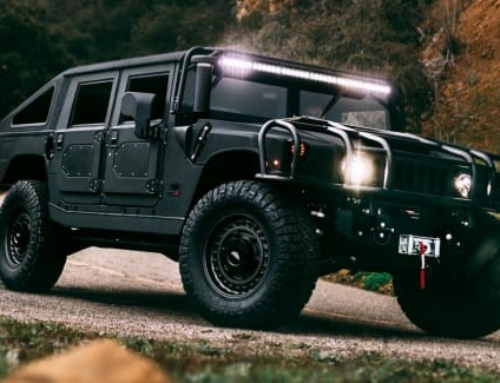This Hummer H1 Restomod Is a Blacked-Out Bruiser